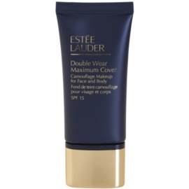 Estée Lauder Double Wear Maximum Cover fedő make-up arcra és testre árnyalat 2W2 Rattan SPF 15  30 ml