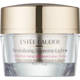 Estée Lauder Revitalizing Supreme Light + multifunkční protivráskový krém s výtažkem z moringy bez obsahu oleje  30 ml