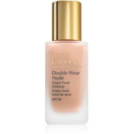 Estée Lauder Double Wear Nude Water Fresh fluidni tekoči puder SPF 30 odtenek 2C2 Pale Almond 30 ml