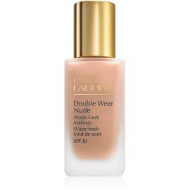 Estée Lauder Double Wear Nude Water Fresh fluidni tekoči puder SPF 30 odtenek 4C1 Outdoor Beige 30 ml