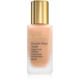 Estée Lauder Double Wear Nude Water Fresh fluidni tekoči puder SPF 30 odtenek 3N1 Ivory Beige 30 ml