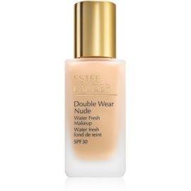 Estée Lauder Double Wear Nude Water Fresh fluidni tekoči puder SPF 30 odtenek 1W1 Bone 30 ml
