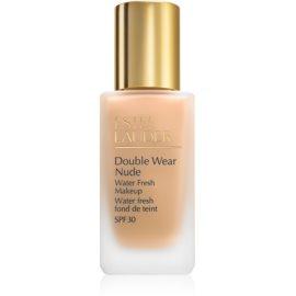 Estée Lauder Double Wear Nude Water Fresh fluidni tekoči puder SPF 30 odtenek 1W2 Sand 30 ml