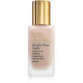 Estée Lauder Double Wear Nude Water Fresh fluidni tekoči puder SPF 30 odtenek 2C0 Cool Vanilla 30 ml