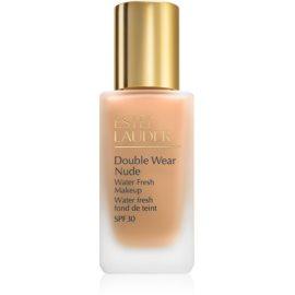 Estée Lauder Double Wear Nude Water Fresh podkład - fluid SPF30 odcień 4N2 Spiced Sand 30 ml