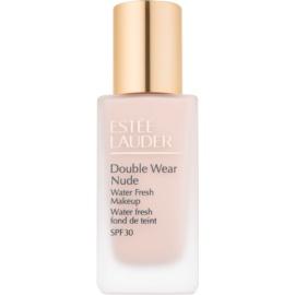 Estée Lauder Double Wear Nude Water Fresh fluidni tekoči puder SPF 30 odtenek 1C2 Petal 30 ml