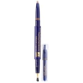 Estée Lauder Automatic creion pentru sprancene cu perie si rezerva culoare 05 Soft Brown  0,2 g