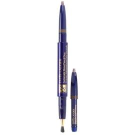 Estée Lauder Automatic Brow Pencil Duo svinčnik za obrvi s čopičem in polnilom odtenek 06 Dark Brown  0,2 g