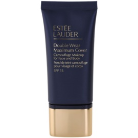 Estée Lauder Double Wear Maximum Cover fedő make-up arcra és testre árnyalat 3W1 Tawny SPF 15  30 ml
