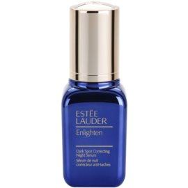 Estée Lauder Enlighten Nachtserum  tegen Pigmentvlekken   30 ml