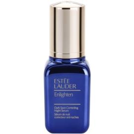 Estée Lauder Enlighten nočné sérum proti pigmentovým škvrnám  30 ml
