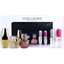 Estée Lauder Mini dárková sada III.  parfémovaná voda 4,7 ml + parfémovaná voda 4 x 4 ml + kabelka