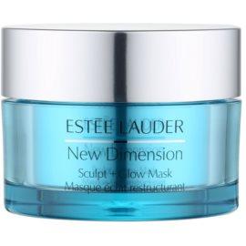 Estée Lauder New Dimension maseczka ujędrniająca do rozjaśnienia i nawilżenia  50 ml