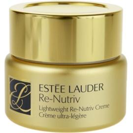 Estée Lauder Re-Nutriv lehký hydratační krém s vyhlazujícím efektem  50 ml