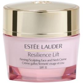 Estée Lauder Resilience Lift creme de dia para rugas para pele seca SPF 15  50 ml