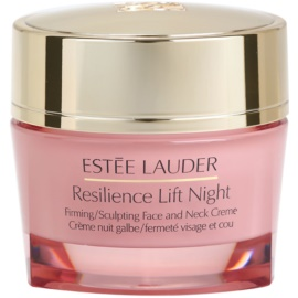 Estée Lauder Resilience Lift Night Firming/Sculpting Face And Neck Creme For All Types Of Skin 50 ml