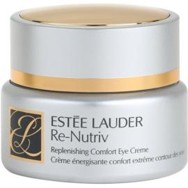 Estée Lauder Re-Nutriv Replenishing Comfort Moisturizing Eye Cream to Treat Wrinkles, Swelling and Dark Circles  15 ml