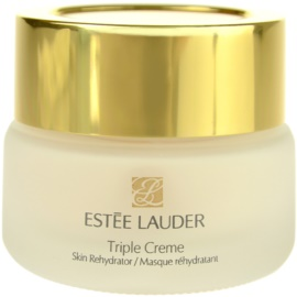 Estée Lauder Triple Creme зволожуюча та поживна маска для всіх типів шкіри  50 мл