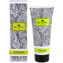 Etro Patchouly sprchový gel unisex 200 ml na vlasy a tělo