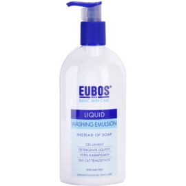 Eubos Basic Skin Care Blue umývacia emulzia bez parfumácie  400 ml