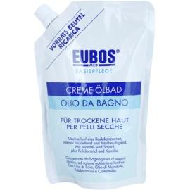 Eubos Basic Skin Care koupelový olej pro suchou pokožku náhradní náplň  400 ml