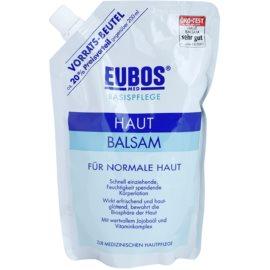 Eubos Basic Skin Care bálsamo corporal hidratante para pieles normales Recambio  400 ml
