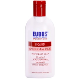 Eubos Basic Skin Care Red emulsão de limpeza sem parabenos  200 ml