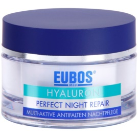 Eubos Hyaluron Intense Overnight Treatment with Anti-Wrinkle Effect  50 ml