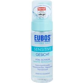 Eubos Sensitive espuma limpiadora para calmar y fortalecer pieles sensibles  150 ml