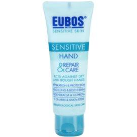 Eubos Sensitive crema regeneradora y protectora para manos  75 ml