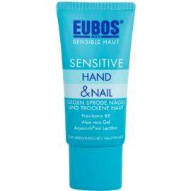 Eubos Sensitive tratamiento intenso para manos secas y agrietadas y para uñas quebradizas  50 ml