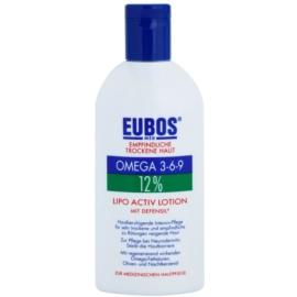 Eubos Sensitive Dry Skin Omega 3-6-9 12% cuidado intensivo para pieles secas e irritadas  200 ml