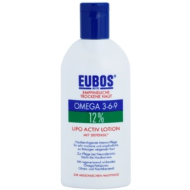 Eubos Sensitive Dry Skin Omega 3-6-9 12% intenzív ápolás a száraz és érzékeny bőrre   200 ml