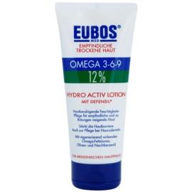 Eubos Sensitive Dry Skin Omega 3-6-9 12% telový balzam pre posilnenie ochrannej bariéry s dlhotrvajúcim hydratačným účinkom  200 ml
