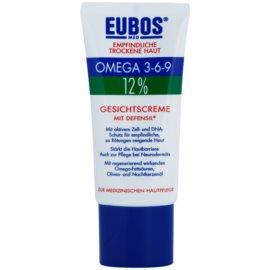 Eubos Sensitive Dry Skin Omega 3-6-9 12% ochranný pleťový krém s aktivními buňkami  50 ml