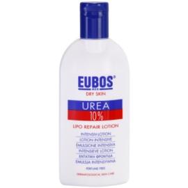 Eubos Dry Skin Urea 10% výživné telové mlieko  pre suchú pokožku so sklonom k svrbeniu  200 ml