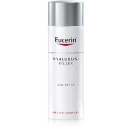 Eucerin Hyaluron-Filler денний крем проти зморшок для нормальної та змішаної шкіри SPF 15  50 мл