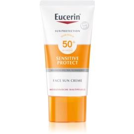 Eucerin Sun schützende Gesichtscreme SPF 50+  50 ml