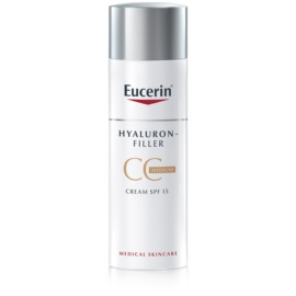 Eucerin Hyaluron-Filler CC Cream Against Deep Wrinkles SPF 15 Shade Medium Dark 50 ml
