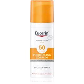 Eucerin Sun pleťový opalovací fluid proti vráskám SPF 50  50 ml