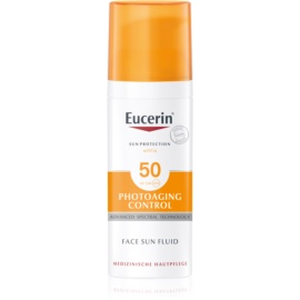 Eucerin Sun protetor solar facial antirrugas SPF 50  50 ml