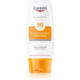 Eucerin Sun Photoaging Control lait solaire extra-léger SPF50+  150 ml