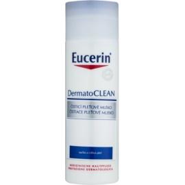 Eucerin DermatoClean lapte de curatare pentru ten uscat si sensibil  200 ml