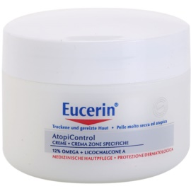 Eucerin AtopiControl 12% Omega + Licochalcone A Cream For Dry And Itchy Skin 75 ml