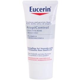 Eucerin AtopiControl die beruhigende Creme für trockene und juckende Haut im Gesicht  50 ml