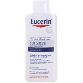 Eucerin AtopiControl олійка для душу та ванни для сухої шкіри з відчуттям свербіння  400 мл