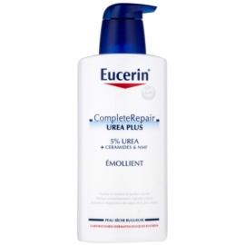 Eucerin CompleteRepair Urea Plus Silkening Body Milk For Dry Skin (5% Urea) 400 ml