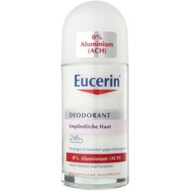 Eucerin Deo desodorante roll-on sin aluminio  para pieles sensibles  50 ml