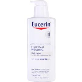 Eucerin Original Healing leche corporal nutritiva para pieles muy secas  500 ml