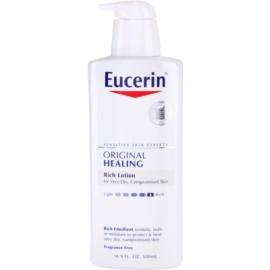 Eucerin Original Healing výživné telové mlieko  pre veľmi suchú pokožku  500 ml